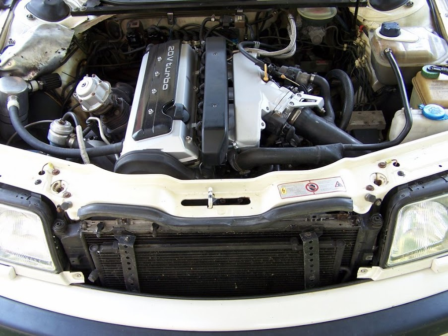 Audi S4 C4 двигатель